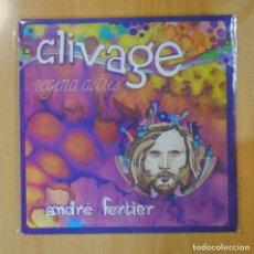 Discos de vinilo: ANDRE FERTIER - CLIVAGE - LP. Lote 194328548