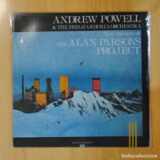 Discos de vinilo: ANDREW POWELL & THE PHILARMONIA ORCHESTRA - PLAY THE BEST OF ALAN PARSONS PROJECT - LP. Lote 194328562