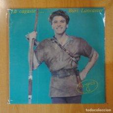 Discos de vinilo: HOMBRES G - LA CAGASTE... BURT LANCASTER - LP. Lote 194328582