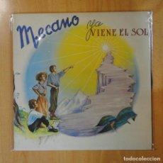Discos de vinilo: MECANO - YA VIENE EL SOL - LP. Lote 194328588