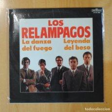 Discos de vinilo: LOS RELAMPAGOS - LA DANZA DEL FUEGO LEYENDA DEL BESO - LP. Lote 194328736