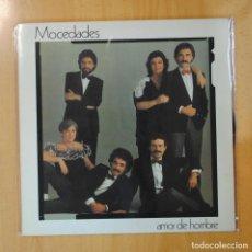 Discos de vinilo: MOCEDADES - AMOR DE HOMBRE - LP. Lote 194328760