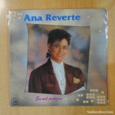 Discos de vinilo: ANA REVERTE - EN MIL PEDAZOS - LP. Lote 194328806