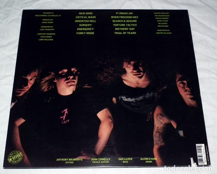 Discos de vinilo: LP NUCLEAR ASSAULT - HANDLE WITH CARE - Foto 2 - 194329945
