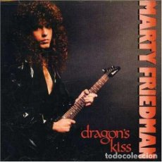 Discos de vinilo: MARTY FRIEDMAN, DRAGON'S KISS. Lote 194331460