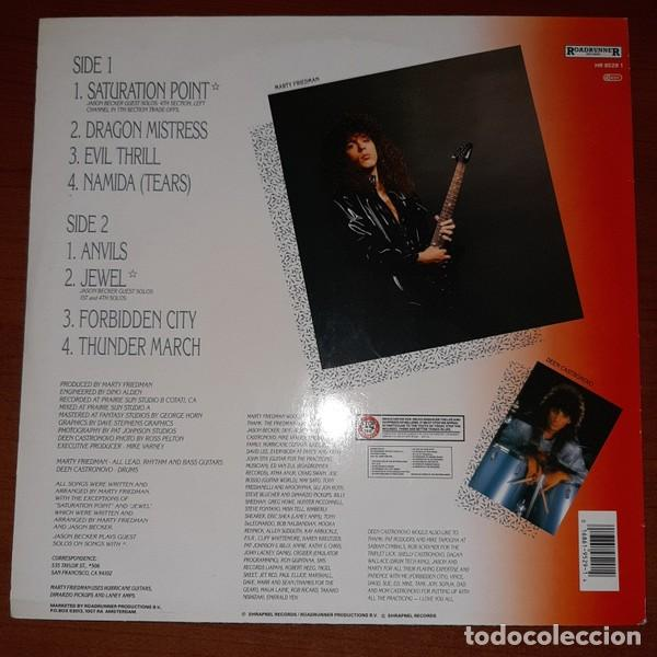 Discos de vinilo: MARTY FRIEDMAN, DRAGONS KISS - Foto 2 - 194331460