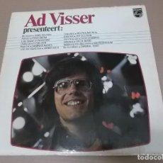 Discos de vinilo: AD VISSER PRESENTEERT (LP) (VER FOTO CONTENIDO COMPLETO) AÑO – 1972 – EDICION HOLANDA. Lote 194334258