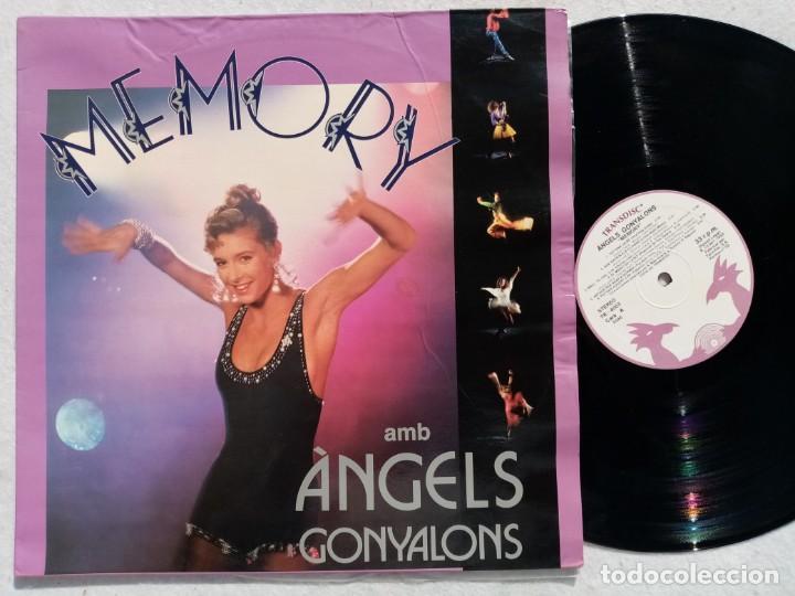 ANGELS GONYALONS - MEMORY - LP 1992 - TRANSDISC (Música - Discos - LP Vinilo - Bandas Sonoras y Música de Actores )