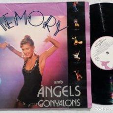 Discos de vinilo: ANGELS GONYALONS - MEMORY - LP 1992 - TRANSDISC. Lote 194334337
