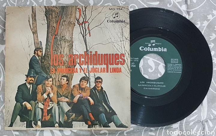 LOS ARCHIDUQUES DISCO VINILO SINGLE. RAREZA AÑOS 70. RARO. TINO CASAL. MUY BUSCADO. COLECCIONISTAS (Música - Discos - Singles Vinilo - Rock & Roll)