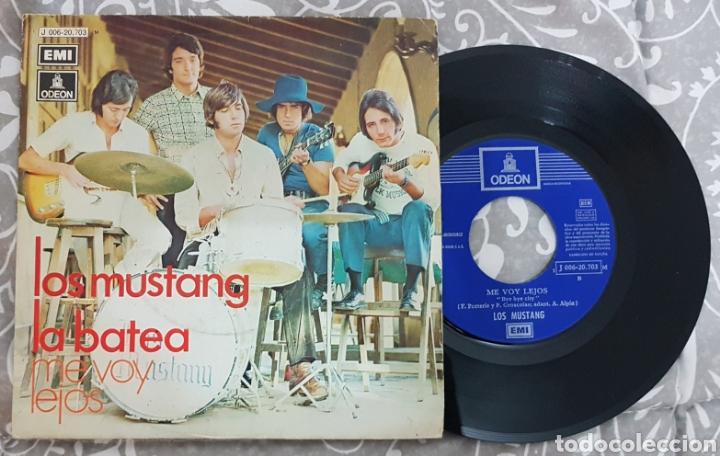 LOS MUSTANG (MUSTANGS) - LA BATEA SINGLE DISCO VINILO. RAREZA. (Música - Discos - Singles Vinilo - Rock & Roll)