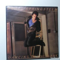 Discos de vinilo: BRUCE SPRINGSTEEN ( DANCING IN THE DARK - PINK CADILLAC ) ENGLAND-1984.. Lote 194336242