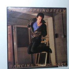 Discos de vinilo: BRUCE SPRINGSTEEN ( DANCING IN THE DARK - PINK CADILLAC ) ENGLAND-1984.. Lote 194336242