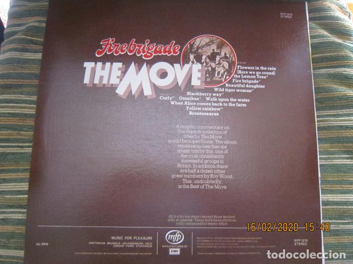 Discos de vinilo: THE MOVE - FIREBRIGADE LP - EDICION INGLESA - MFP RECORDS 1970 - MUY NUEVO (5) - Foto 2 - 194337168