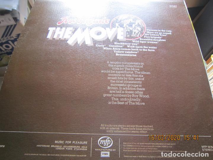 Discos de vinilo: THE MOVE - FIREBRIGADE LP - EDICION INGLESA - MFP RECORDS 1970 - MUY NUEVO (5) - Foto 9 - 194337168