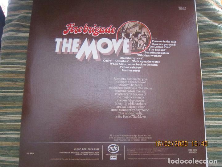 Discos de vinilo: THE MOVE - FIREBRIGADE LP - EDICION INGLESA - MFP RECORDS 1970 - MUY NUEVO (5) - Foto 18 - 194337168