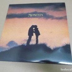 Discos de vinilo: MOMENTS (LP) (VER FOTO CONTENIDO COMPLETO) AÑO – 1981 – DOBLE DISCO PORTADA ABIERTA. Lote 194337981