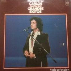 Discos de vinilo: ROBERTO CARLOS CANTA SUS GRANDES EXITOS LP SPAIN 1978. Lote 194338070