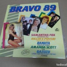 Discos de vinilo: BRAVO 89 (LP) (VER FOTO CONTENIDO COMPLETO) AÑO – 1988. Lote 194338183