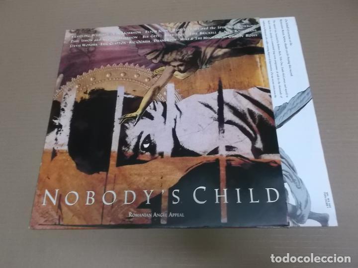 NOBODY'S CHILD – ROMANIAN ANGEL APPEAL (LP) (VER FOTO CONTENIDO COMPLETO) AÑO – 1990 – ENCARTE CON C (Música - Discos - LP Vinilo - Pop - Rock - New Wave Extranjero de los 80)