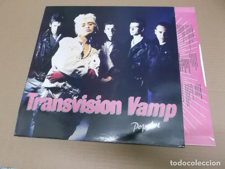 TRANSVISION VAMP (LP) POP ART AÑO – 1988 - ENCARTE CON LETRAS (Música - Discos - LP Vinilo - Pop - Rock - New Wave Extranjero de los 80)