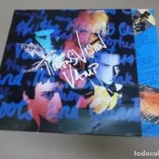 Discos de vinilo: TRANSVISION VAMP (LP) THE LITTLE MAGNETS VERSUS THE BUBBLE OF BABLE AÑO – 1990 - ENCARTE CON LETRAS. Lote 194339728