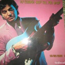 Discos de vinilo: RY COODER - BOP TILL YOU DROP LP - ORIGINAL ALEMAN - WARNER BROS. RECORDS 1979 MUY NUEVO (5). Lote 194341145