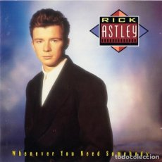 Discos de vinilo: RICK ASTLEY – WHENEVER YOU NEED SOMEBODY. Lote 194341908