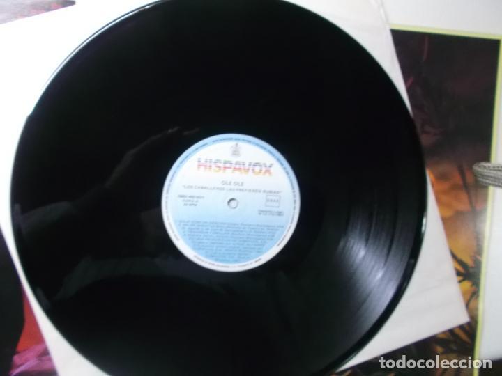 Discos de vinilo: OLE OLE, LOS CABALLEROS LAS PREFIEREN RUBIAS,1987, DOBLE PORTADA - Foto 4 - 194342288