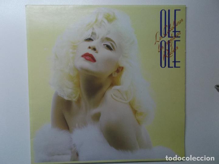 OLE OLE, LOS CABALLEROS LAS PREFIEREN RUBIAS,1987, DOBLE PORTADA (Música - Discos - LP Vinilo - Grupos Españoles de los 70 y 80)