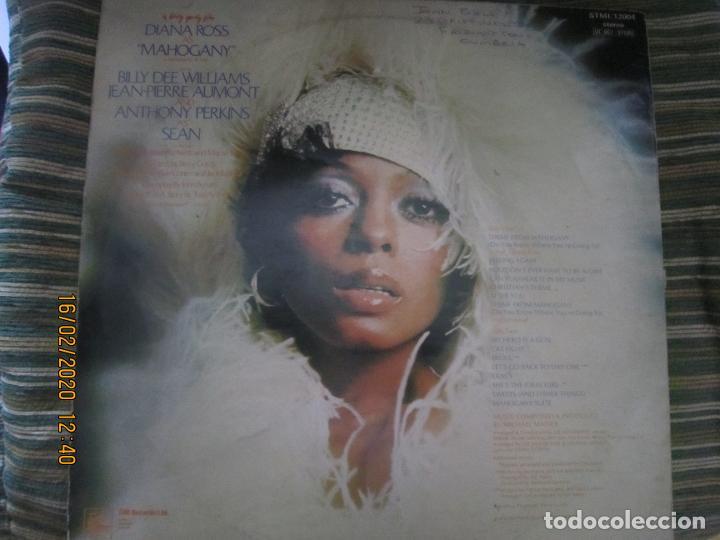 Discos de vinilo: DIANA ROSS AS MAHOGANY LP B.S.O. - ORIGINAL INGLES - TAMLA MOTOWN RECORDS 1975 - - Foto 2 - 194343368