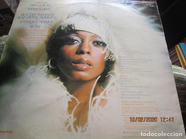 Discos de vinilo: DIANA ROSS AS MAHOGANY LP B.S.O. - ORIGINAL INGLES - TAMLA MOTOWN RECORDS 1975 - - Foto 8 - 194343368