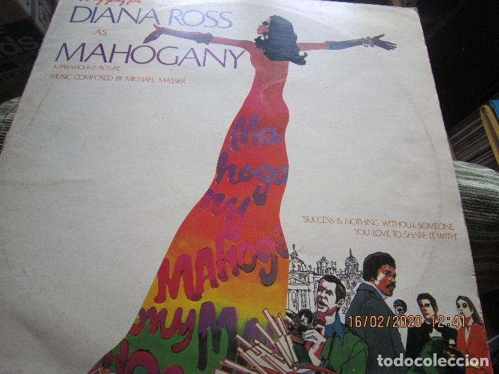 Discos de vinilo: DIANA ROSS AS MAHOGANY LP B.S.O. - ORIGINAL INGLES - TAMLA MOTOWN RECORDS 1975 - - Foto 9 - 194343368