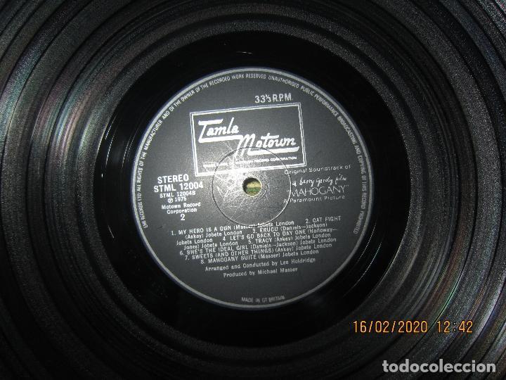 Discos de vinilo: DIANA ROSS AS MAHOGANY LP B.S.O. - ORIGINAL INGLES - TAMLA MOTOWN RECORDS 1975 - - Foto 14 - 194343368