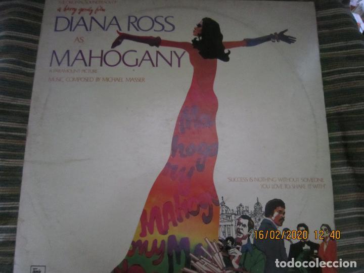 DIANA ROSS AS MAHOGANY LP B.S.O. - ORIGINAL INGLES - TAMLA MOTOWN RECORDS 1975 - (Música - Discos - LP Vinilo - Bandas Sonoras y Música de Actores )