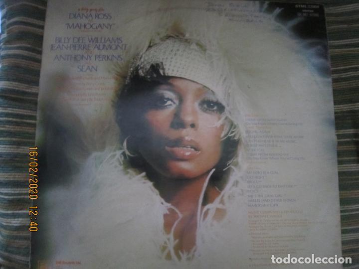 Discos de vinilo: DIANA ROSS AS MAHOGANY LP B.S.O. - ORIGINAL INGLES - TAMLA MOTOWN RECORDS 1975 - - Foto 17 - 194343368