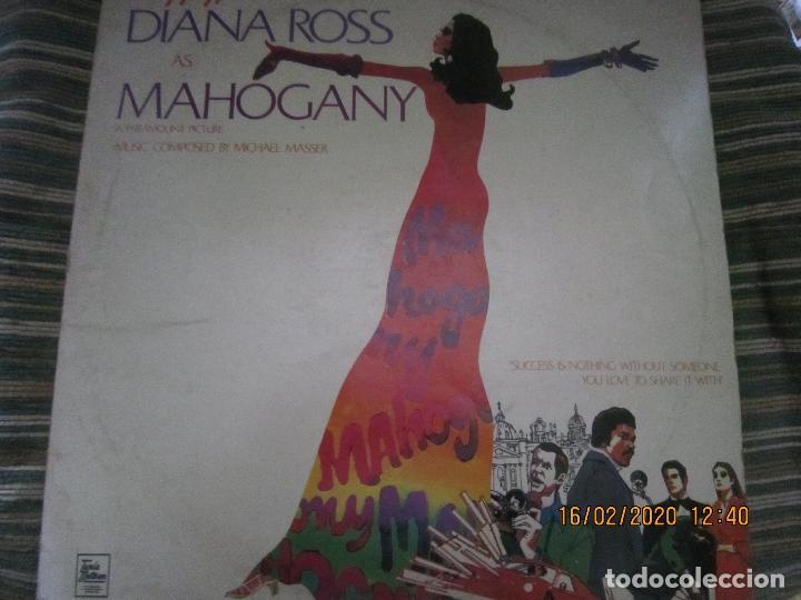 Discos de vinilo: DIANA ROSS AS MAHOGANY LP B.S.O. - ORIGINAL INGLES - TAMLA MOTOWN RECORDS 1975 - - Foto 18 - 194343368