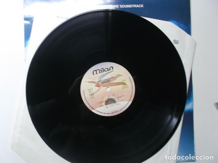 Discos de vinilo: GHOST - MUSICA DE MAURICE JARRE - LP BANDA SONORA ORIGINAL 1990 - Foto 2 - 194343648