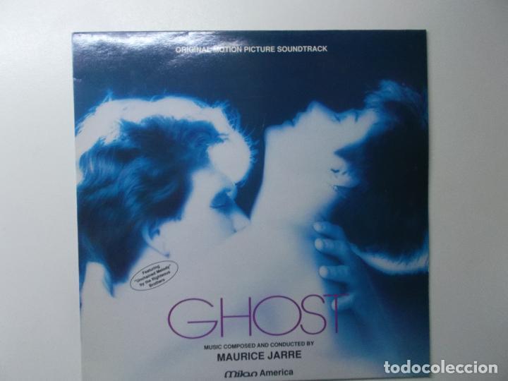 GHOST - MUSICA DE MAURICE JARRE - LP BANDA SONORA ORIGINAL 1990 (Música - Discos - LP Vinilo - Bandas Sonoras y Música de Actores )
