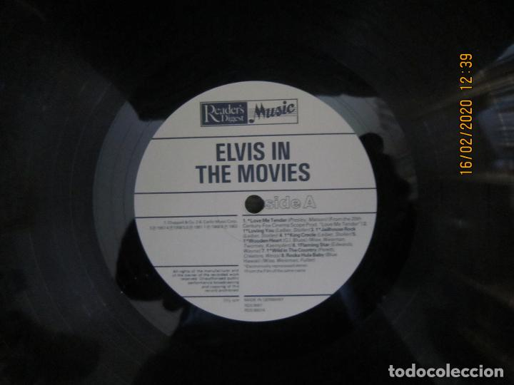 Discos de vinilo: ELVIS PRESLEY - ELVIS IN THE MOVIES LP - EDICION ALEMANA - READERS DIGEST 1978 - MUY NUEVO (5) - Foto 8 - 194344427