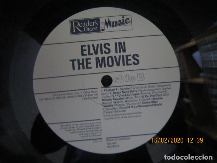 Discos de vinilo: ELVIS PRESLEY - ELVIS IN THE MOVIES LP - EDICION ALEMANA - READERS DIGEST 1978 - MUY NUEVO (5) - Foto 12 - 194344427