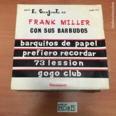 Discos de vinil: FRANK MILLER. Lote 194345243