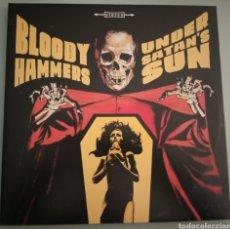 Discos de vinilo: BLOODY HAMMERS - UNDER SATAN'S SUN - VINILO. Lote 194345357