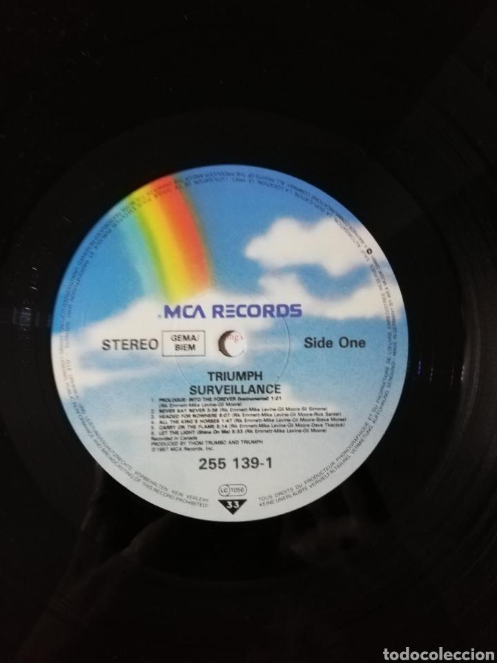 Discos de vinilo: Disco vinilo Triumph-Surveillance. - Foto 4 - 194345488