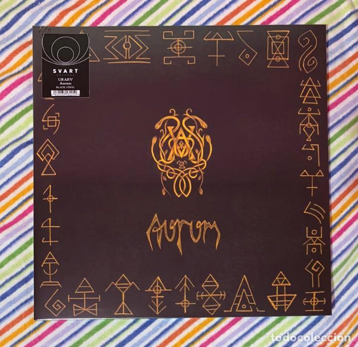 URARV - AURUM 12'' LP GATEFOLD NUEVO Y PRECINTADO - BLACK METAL AVANT-GARDE METAL (Música - Discos - LP Vinilo - Heavy - Metal)