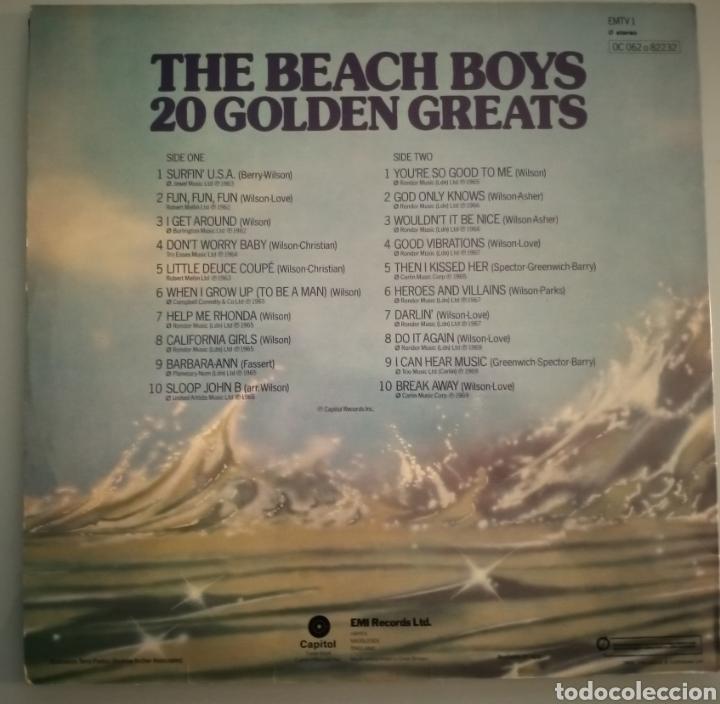 Discos de vinilo: The Beach Boys - 20 golden greats - vinilo - Foto 2 - 194345857