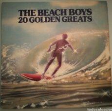 Discos de vinilo: THE BEACH BOYS - 20 GOLDEN GREATS - VINILO. Lote 194345857
