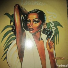 Discos de vinilo: DIANA ROSS - ROSS LP - ORIGINAL INGLES - MOTOWN RECORDS 1978 - STEREO -. Lote 194345865