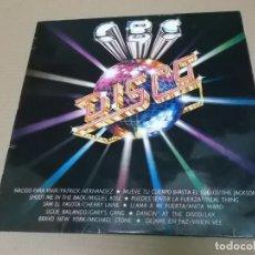Discos de vinilo: CBS DISCO – LO MEJOR DE LA MUSICA DISCO (LP) (VER FOTO CONTENIDO COMPLETO) AÑO – 1979. Lote 194346758