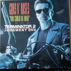 Discos de vinilo: DISCO VINILO MAXI SINGLE GUNS N' ROSES-YOU COULD BE MINE. TERMINATOR 2.. Lote 194346825
